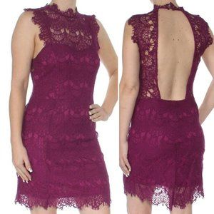NWT Free People Daydream Lace Mini Dress Size S